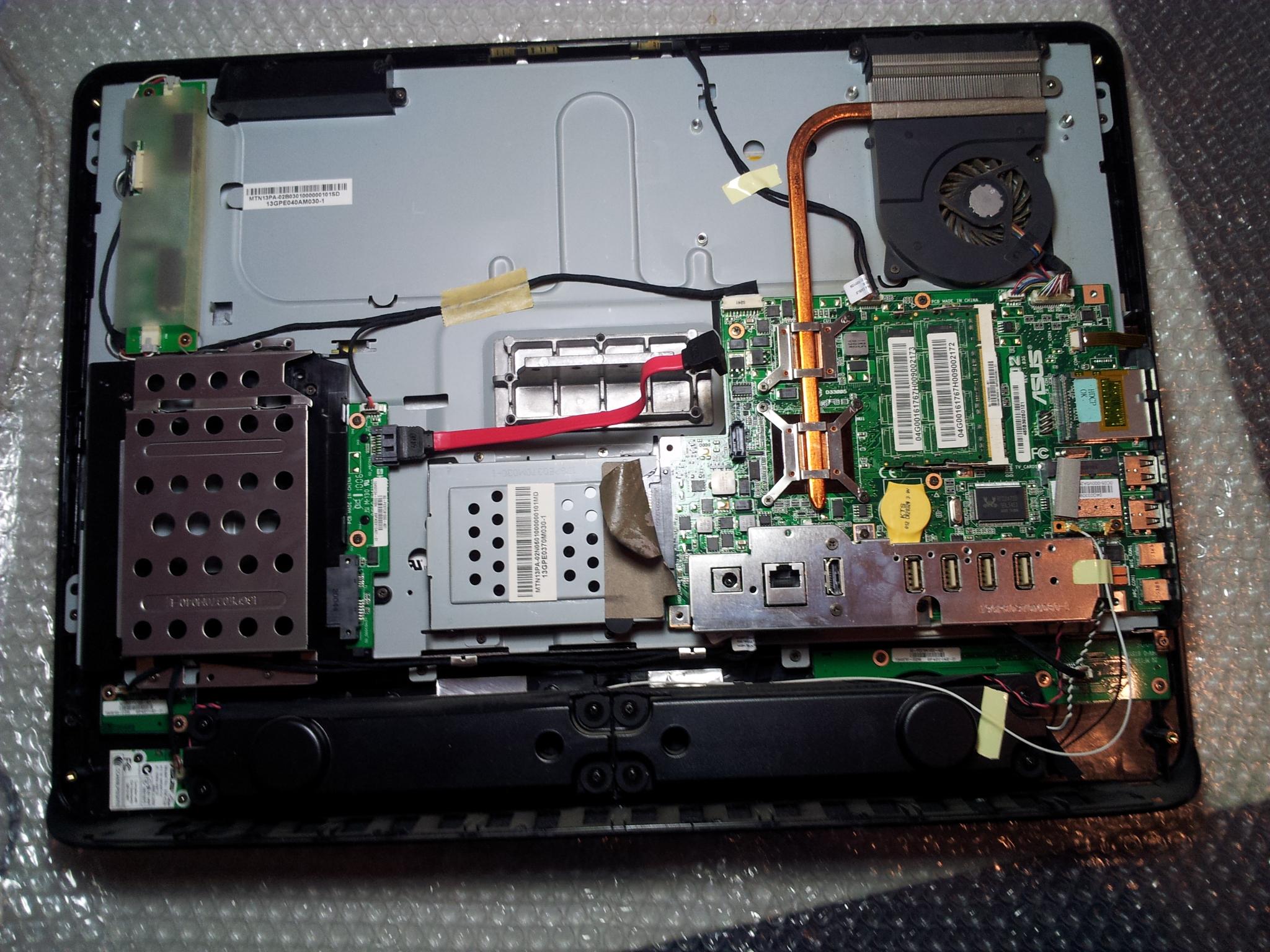 Laptop in Reparatur